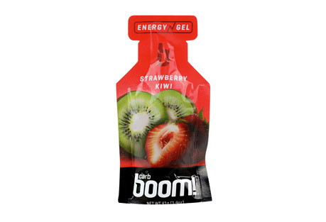 Boom! Carb Boom! Strawberry-Kiwi Energy Gel - 24 Pack