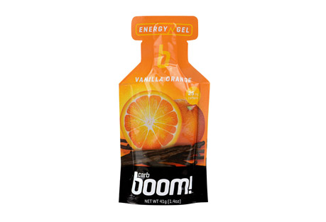 Boom! Carb Boom! Vanilla-Orange Energy Gel - 24 Pack