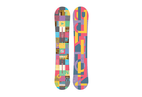 Burton Feather Snowboard 2017 - Women's 149cm