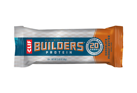 CLIF Chocolate Peanut Butter 20g Builders Bar - Box of 12