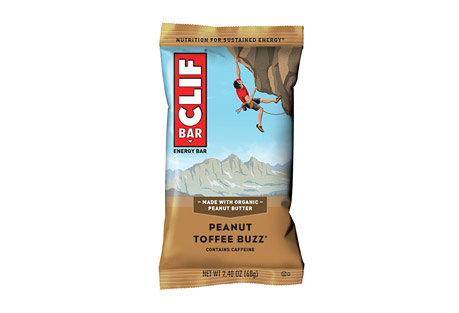 CLIF Peanut Toffee Buzz Bar w/Caffeine - Box of 12