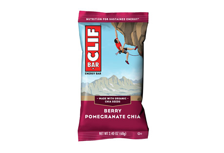 CLIF Berry Pomegranate Chia Bar - Box of 12