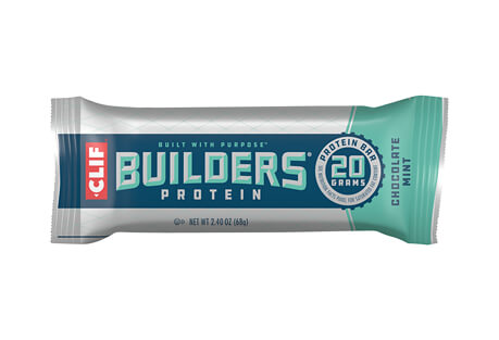 CLIF Chocolate Mint 20g Builders Bar - Box of 12