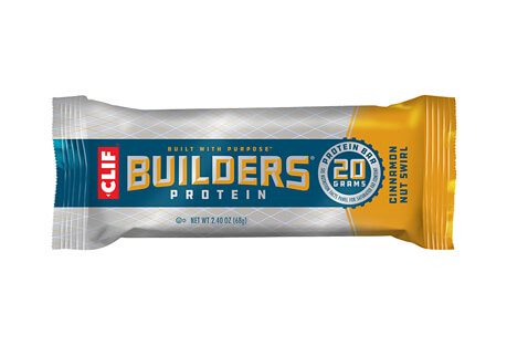 CLIF Cinnamon Nut Swirl 20g Builders Bar - Box of 12