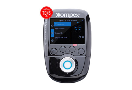 Compex USA Wireless 2.0 Muscle Stimulator Kit with TENS