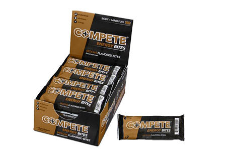 COMPETE Energy Bites Mocha - Box of 12