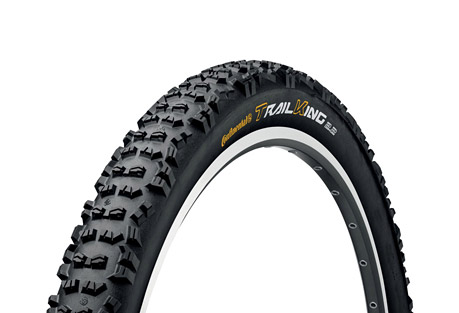 Continental Trail King 27.5 X 2.2 Fold Protection + Black Chili Tire