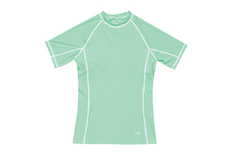 Dakine Hoku Short Sleeve Rashguard W/ Shelf Bra - Women's