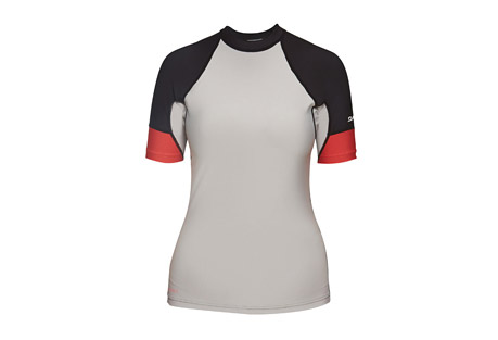 Dakine Flow Snug Fit Short Sleeve Rashguard - Women's