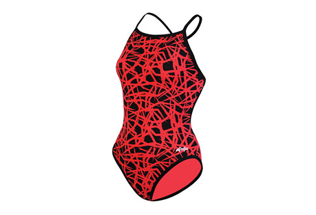 Dolfin Tracks Reversible Polyester Crossback - Womens
