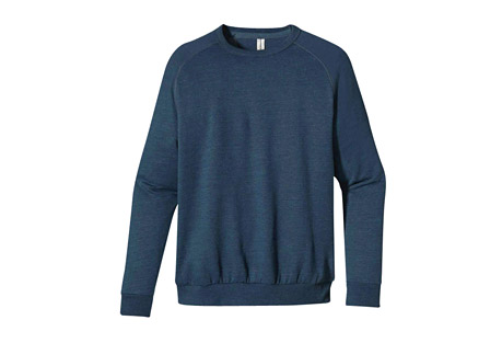 Econscious Heathered Fleece Raglan Crew - Men's