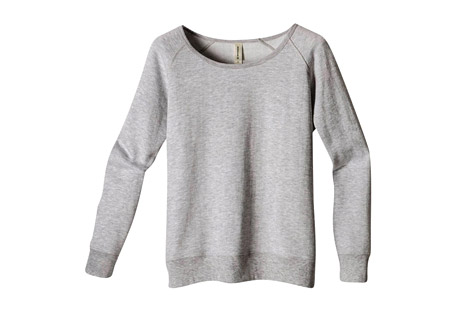 Econscious Heathered Fleece Raglan - Women's