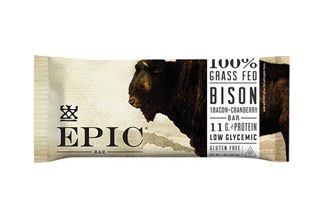 EPIC Bar Bison Bacon Cranberry Bars - Box of 12