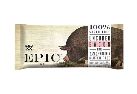 EPIC Bar Uncured Bacon Bars - Box of 12
