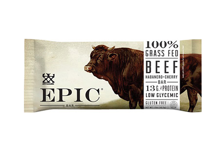 EPIC Bar Beef Habanero Cherry Bars - Box of 12