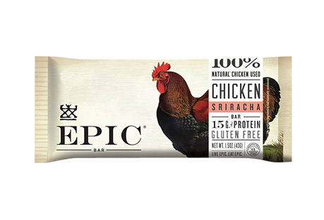 EPIC Bar Chicken Sriracha Bars - Box of 12
