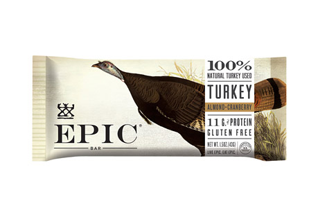 Epic Bar Turkey Almond Cranberry Bars - Box of 12