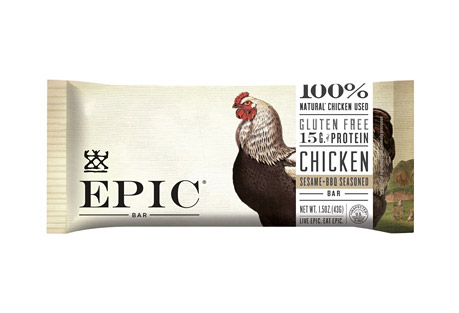 Epic Bar Chicken Sesame BBQ Bars - Box of 12