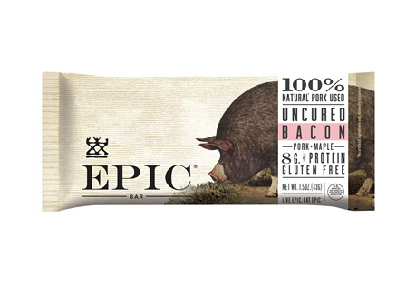 Epic Bar Smoked Maple Bacon Bars - Box of 12