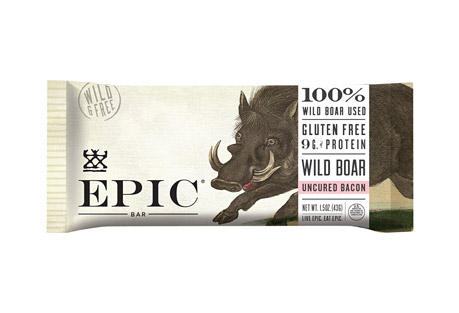 Epic Bar Wild Boar Bacon Bars - Box of 12