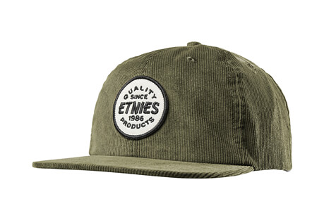 740db8e234f72 Etnies Patched Snapback Hat