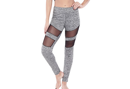 Electric Yoga Tummy Tuck Mesh Racer Legging - Women's