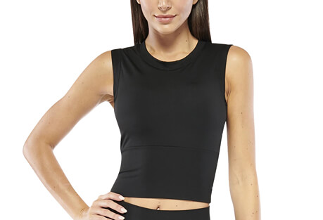 Electric Yoga Cropped Top with Built in Padding - Women's