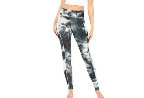 Electric Yoga Tye Dye Textured Legging - Women's