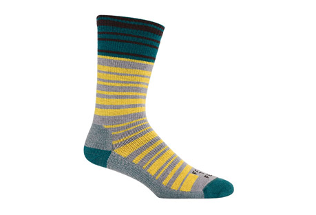 Farm to Feet Mount Airy Super Stripe Mid-Weight Crew Socks