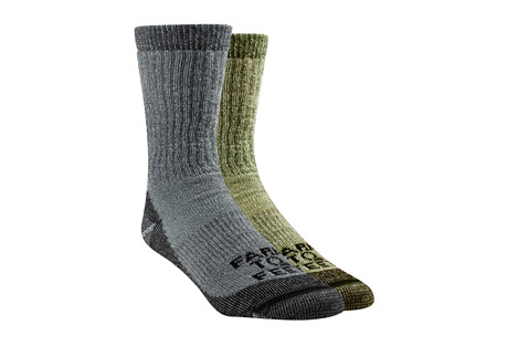Farm to Feet Boulder Mid Weight Crew Socks 2-Pack