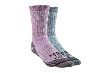 Farm to Feet Boulder Mid Weight Crew Socks 2-Pack - Women's