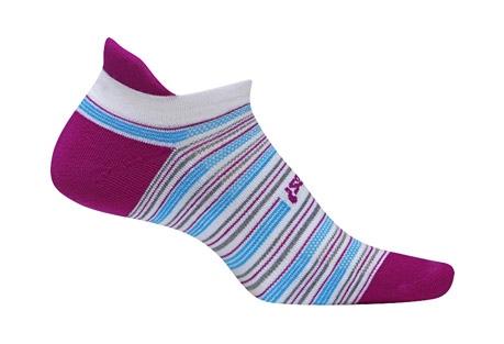 Feetures! High Performance Light Cushion No Show Socks - Women's