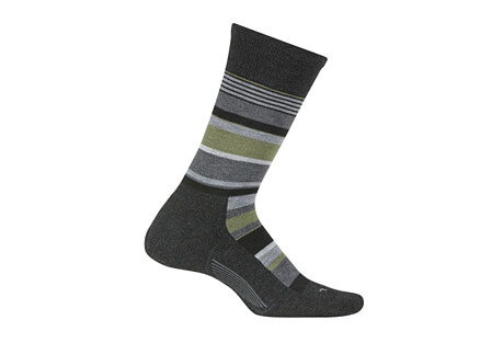 Feetures! Everyday Be Bold Cushion Crew Socks