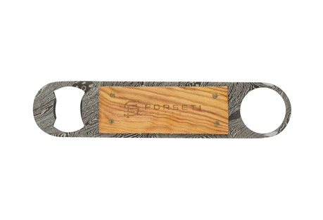 Forseti Steel Sommelier Damascus Steel Bottle Opener
