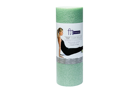 Fit Essentials Travel Size Foam Roller (4