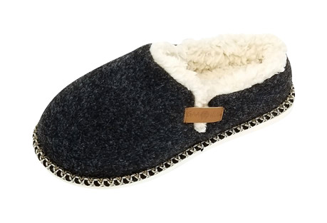 GaaHuu Faux Wool Felted Clog Slippers - Women's