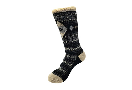 GaaHuu Diamond Fairisle Thermal Socks - Women's