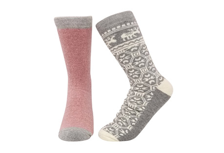 GaaHuu Super Soft 2-Pair Thermal Insulated Socks - Women's
