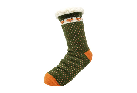 GaaHuu Fox Slipper Socks - Women's