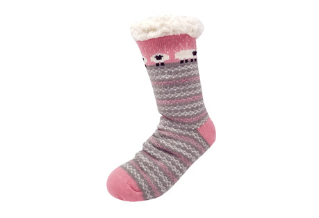 GaaHuu Sheep Fairisle Slipper Socks - Women's