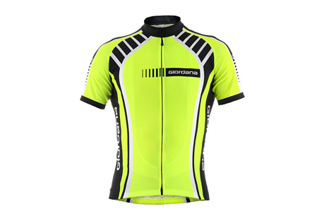 Giordana Stripe Vero Short Sleeve Jersey - Men's