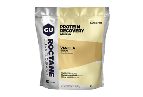 GU Vanilla Bean Roctane Protein Recovery Drink Mix - 15 Servings