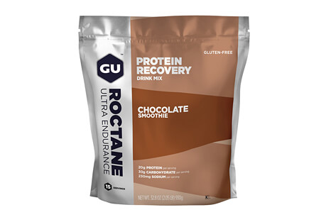 GU Chocolate Smoothie Roctane Protein Recovery Drink Mix - 15 Servings