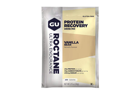 GU Vanilla Bean Roctane Protein Recovery Drink Mix - Box of 10