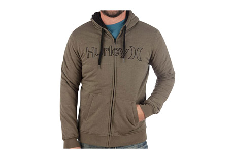 Hurley One and Only Zip Up Fleece - Men's