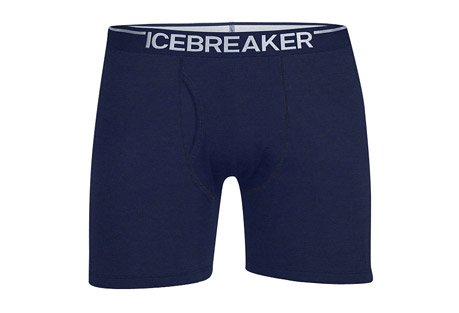 Icebreaker Anatomica Relaxed Boxers w/ Fly - Men's