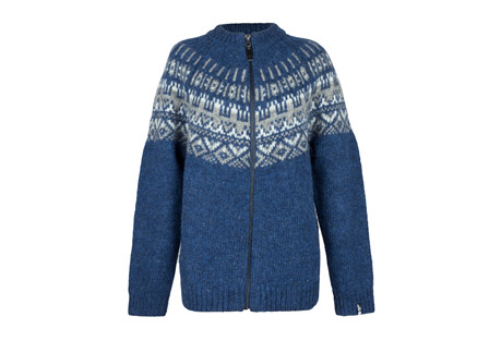 Icewear Elis Wool Sweater With Full Zip - Women's