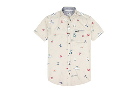 Jetty Shenanigans Woven Shirt - Men's