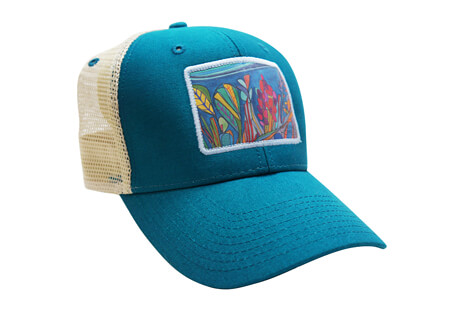 Katherine Homes Coral Reef Baseball Hat