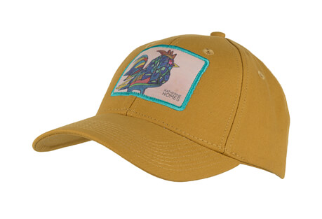 Katherine Homes Rooster Baseball Hat